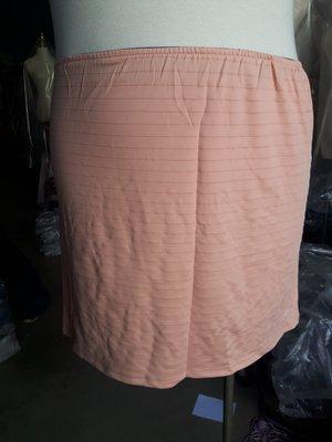 切貨 大尺碼 同款式鬆緊腰彈力短裙一組10件350元