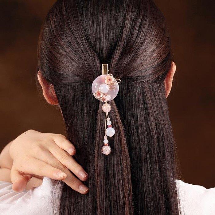 古風中國風發夾復古夾子頂夾邊夾成人百搭優雅發飾個性頭飾品女