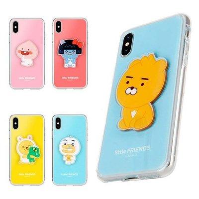 KAKAO FRIENDS 小孩版 壓克力立體人物 軟/硬 手機殼│iPhone 7 8 Plus│z9169