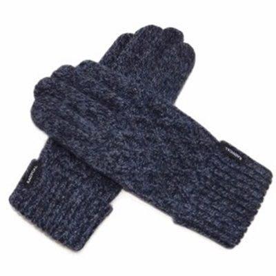 羊毛手套觸控男手套-加厚手工擰花商務防寒保暖時尚配件72q1[獨家進口][巴黎精品]