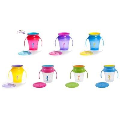 羅賓森-Wow Baby 360度喝水杯+蓋(多款)