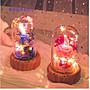 暖暖本舖 情人節藍芽音響 許願永生花 藍芽音箱 藍芽喇叭 花束夜燈 小夜燈 玫瑰花燈 乾燥花夜燈 藝術鎂光燈 聖誕節禮物