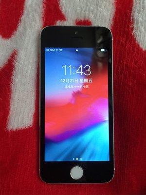 Iphone5s 16g 8成新 所有功能正常