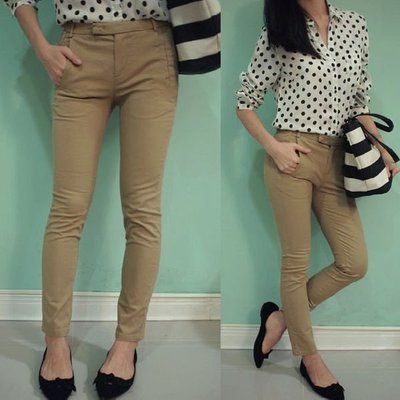 MISHIANA 女生款質感棉質舒適修身提臀高彈性長褲 ( 新款上市.特價出售 )