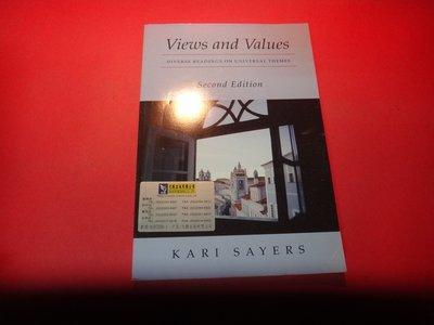 【愛悅二手書坊 17-32】Views and Values (劃記)