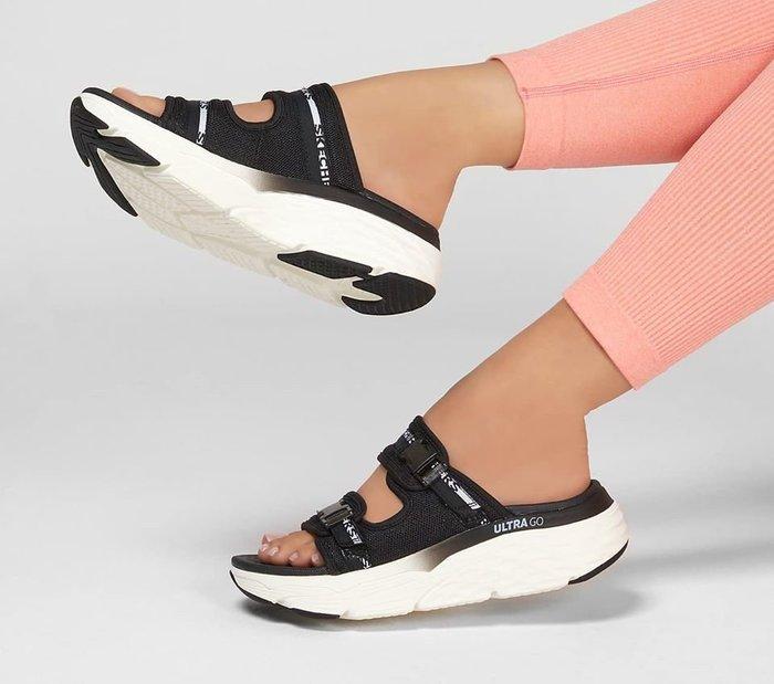 Skechers 2020新款1140117 BKW GogaMat舒適緩鞋墊增高5CM超輕量多功能鞋