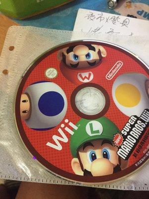 新超級瑪莉歐兄弟Wii遊戲片