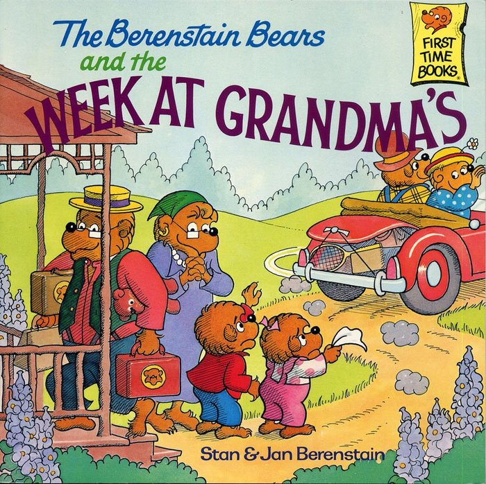 *小貝比的家*THE BERENSTAIN BEARS AND THE WEEK AT GRANDMA'S(母親節)