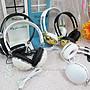 ☆[Hankaro]☆歐美流行頭戴式造型耳機(樣品...