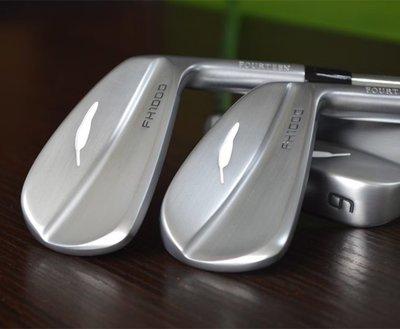 @灰灰小店 新款日本進口 Fourteen高爾夫鐵桿組 高爾夫球桿 4-P刀背軟鐵鍛造特價