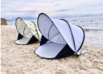 戶外帳篷 2秒速開帳篷 沙灘帳篷 遮陽 防曬 防雨 簡易免搭建郊游野餐