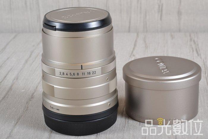 【品光數位】 CONTAX Sonnar 90mm F2.8 90/2.8 T* G鏡 G90 #91090