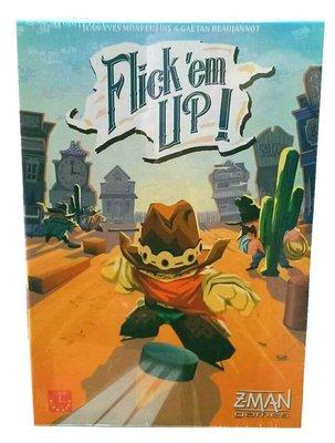 【陽光桌遊】(免運) 荒野大彈客 Flick'em Up 繁體中文版 正版桌遊