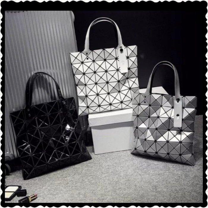 《預購》🍭韓版新款菱格手提包/單肩菱格包/幾何拼接包🍭