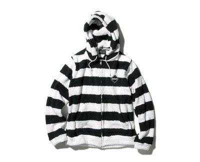 2015AW F.C.R.B. EMBLEM SOFT PILE ZIP UP PARKA 外套