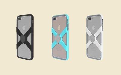 【嘉晟偉士】X-Guard for iPhone 7 Plus 手機保護殼 X鏤空設計 贈無限扣-公扣&手機保護背貼