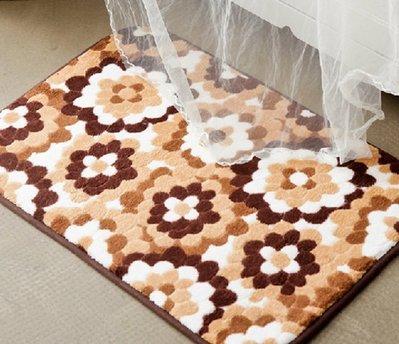 直670巷:宜家珊瑚絨田園風格 吸水記憶地墊 衛浴地墊 衛浴踏墊 室內地毯 地毯地墊坐墊吸