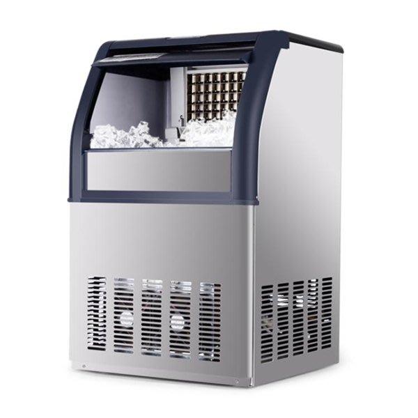 【全館免運】製冰機 制冰機 大型80kg奶茶店酒吧ktv全自動冰塊機家用小型方冰  湘北旗艦館