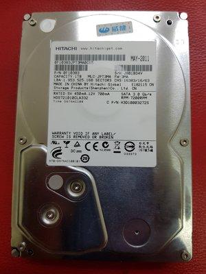 中古 二手 HITACHI  1TB/ 1000G SATA  DVR監控主機/ 電腦硬碟使用 台南市