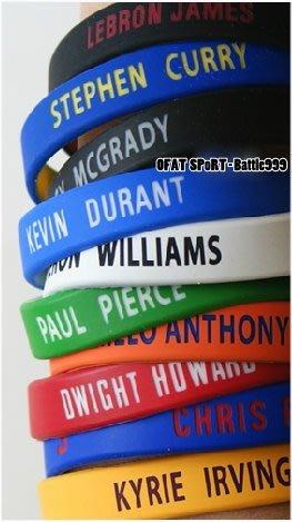 NBA 手環 官方授權 正版 2個一組 騎士 LBJ irving kobe Curry lillard【RX01】