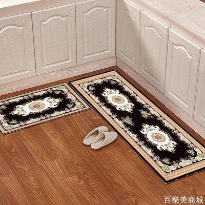 精選  歐式廚房地墊長條吸水防滑墊子簡約家用機洗腳墊門墊地墊臥室地毯