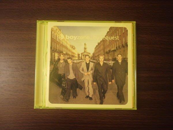 男孩特區 Boyzone【最愛精選 by request】二手CD  下標即結標