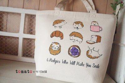 ˙TOMATO生活雜鋪˙日本進口雜貨刺蝟 貓姿態 美式貓野餐保溫提袋(預購)