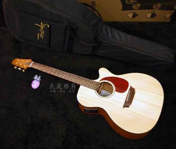 《民風樂府》Sympher Stager GAM-E FISHMAN EQ GA琴身 表演用 單板電木民謠吉他