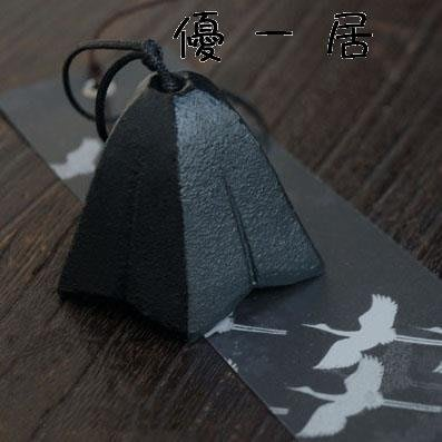 日式南部鑄鐵風鈴日本金屬掛飾音韻清澈 勝喜屋 龍膽花Y-優思思