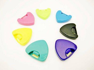 【老羊樂器店】吉他 貝斯 大三角pick盒 彈片 撥片 匹克 pick