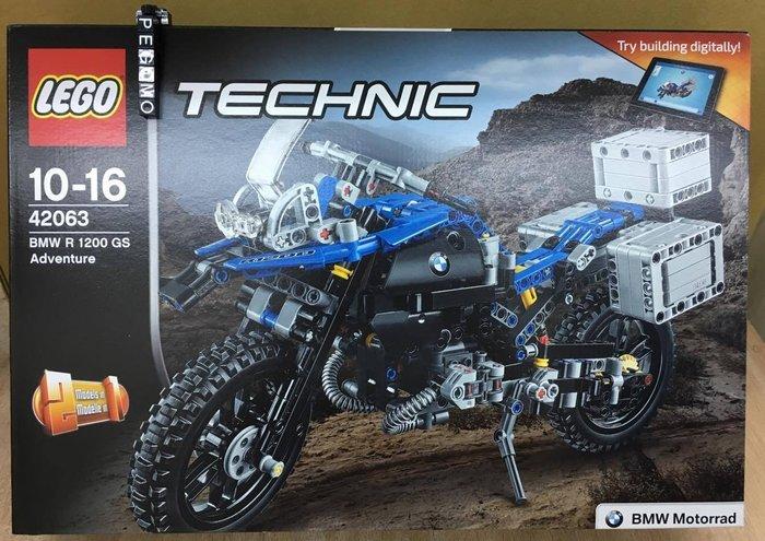 【痞哥毛】LEGO 樂高 Technic 系列42063 BMW R 1200 GS Adventure全新未拆