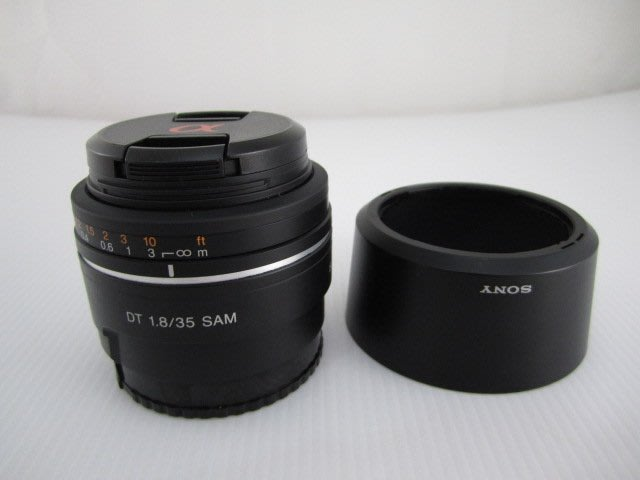 SONY DT 35mm F1.8  SAM 定焦鏡頭 *3200元*(GK080)