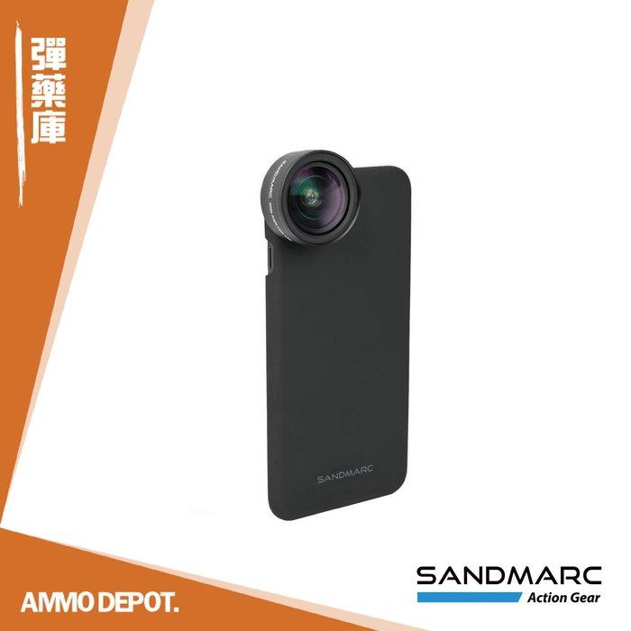 【AMMO DEPOT.】 SANDMARC 0.56X 超廣角 HD 手機鏡頭 內含 鏡頭夾具 + iPhone 背蓋