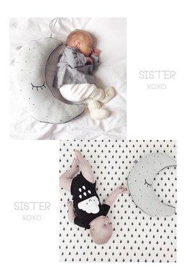 Sisterxoxo 歐美 北歐 夜光抱枕 兒童房 嬰兒 安撫 玩偶 滿月禮 時尚 家居飾品