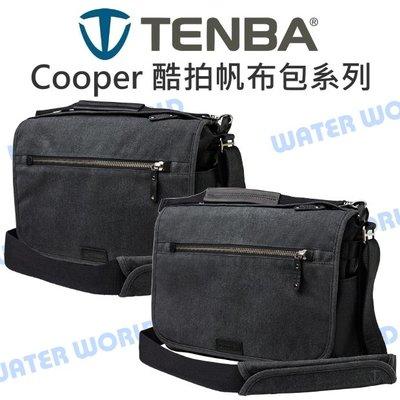 【中壢NOVA-水世界】TENBA Cooper 13 窄版 酷拍肩背帆布包 斜肩包 相機側背包 附防雨罩 公司貨