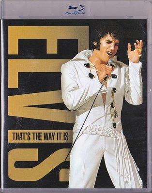 音樂居士*Elvis That's the Way It Is 貓王就是這樣的 英文字幕*CD專輯