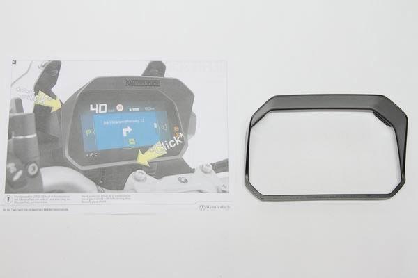 梁記零配件小舖 F750GS F850GS WUNDERLICH 儀表遮陽板