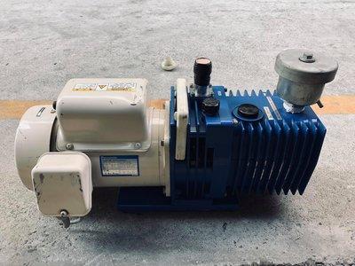 日本外匯品 ULVAC G-100DB 1/2HP AC110V 油式真空幫浦-真空脫泡機-真空含浸-真空乾燥-