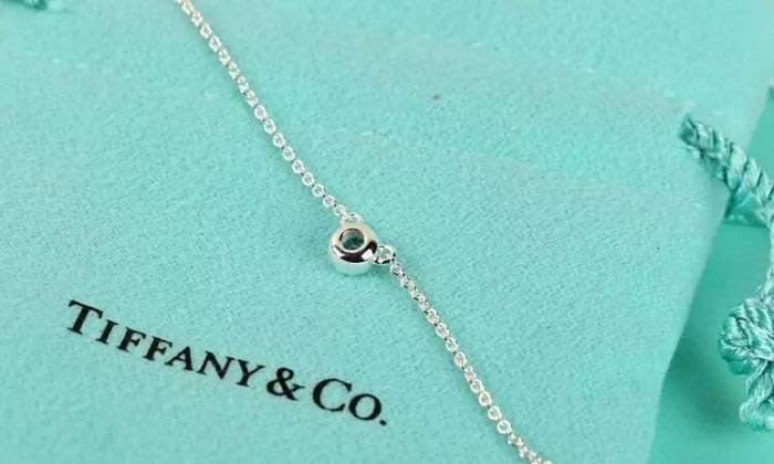 Melia 米莉亞代購 Tiffany&Co. 925純銀 Tiffany 蒂芙尼 項鍊 手環飾品 禮物 海藍鎖骨項鍊
