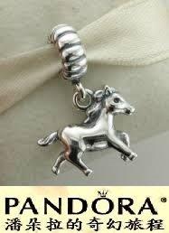 潘朵拉我最便宜{{潘朵拉的奇幻旅程}} PANDORA Horse Dangle 生肖馬 791099