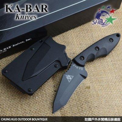 詮國 KA-BAR 3.56吋 Hinderer Hell TANTO直刀 - 2486