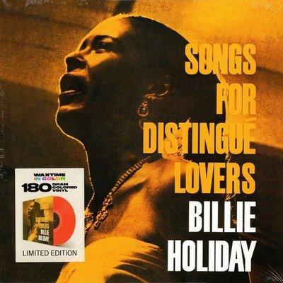 合友唱片 比莉 哈樂黛 Billie Holiday / 獻給高貴的愛人 (限量彩膠 180g LP)