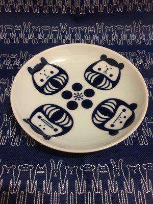 日本精選 日本製 JAPAN CRAFTHOLIC 宇宙人 日系達摩餐盤