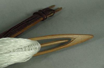 [ 珠舍 ] 原住民阿美族補魚網用針2支 *低價起標*標多少賣多少*