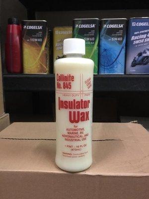 可超商取貨【油品味】Collinite No.845 柯林蠟 Insulator Wax 平行輸入 16oz