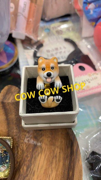 (現貨商品) 牛牛小舖**泰國連線 泰國文創手工動物造C型戒 柴犬