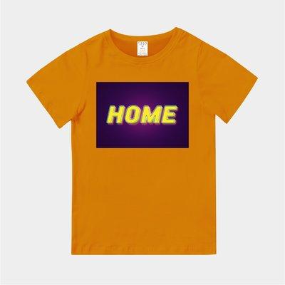 T365 MIT 親子裝 T恤 童裝 情侶裝 T-shirt 標語 話題 口號 標誌 美式風格 slogan HOME