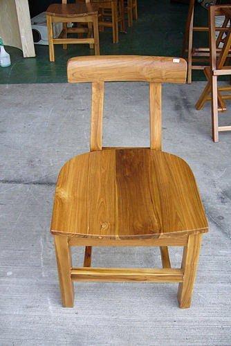 樂居二手家具 全新中古傢俱賣場 P1900全實木柚木餐椅 原木洽談椅 書桌椅辦公椅會議椅全省收購二手家具 戶外休閒桌椅