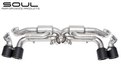 【樂駒】 Soul Performance Products Porsche 991.1 Valved Exhaust
