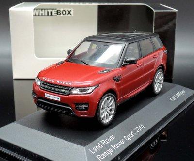 【M.A.S.H】微瑕出清價 Whitebox 1/43  Range Rover Sport 2014 red